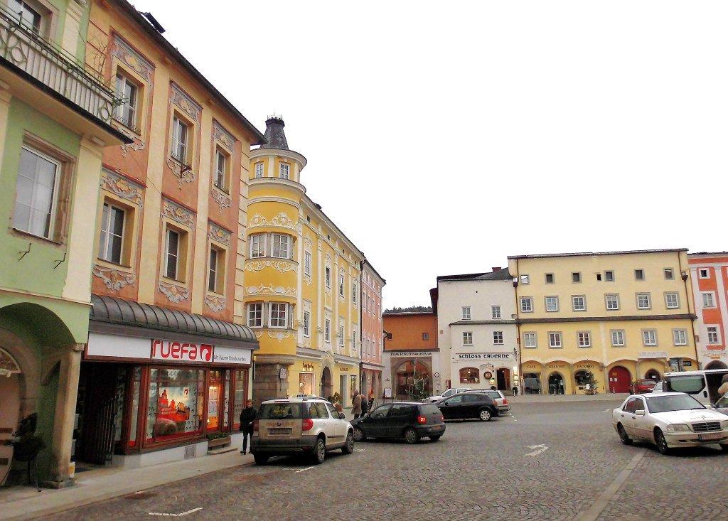 Markt in Freistadt - Freistadt, Oberösterreich (4240-OOE)