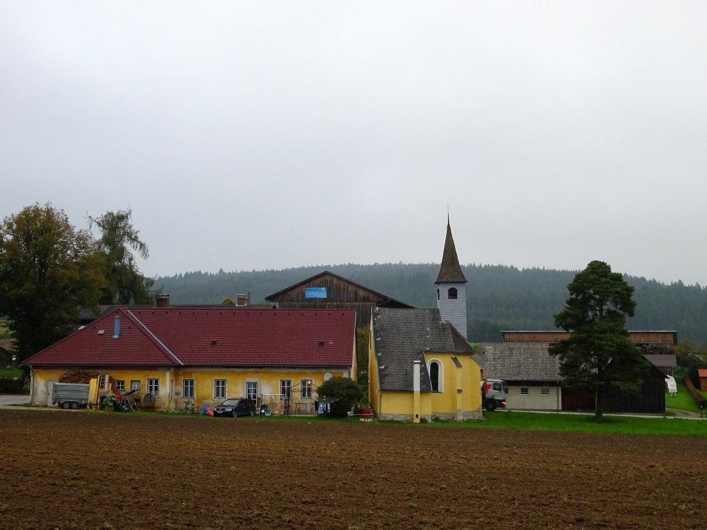 Blick zur Dorfkapelle Pehendorf - Pehendorf, Niederösterreich (3911-NOE)