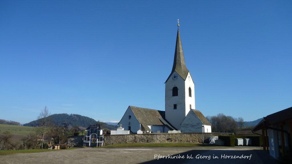 Pfarrkirche hl. Georg in Hörzendorf - Hörzendorf, Kärnten (9300-KTN)