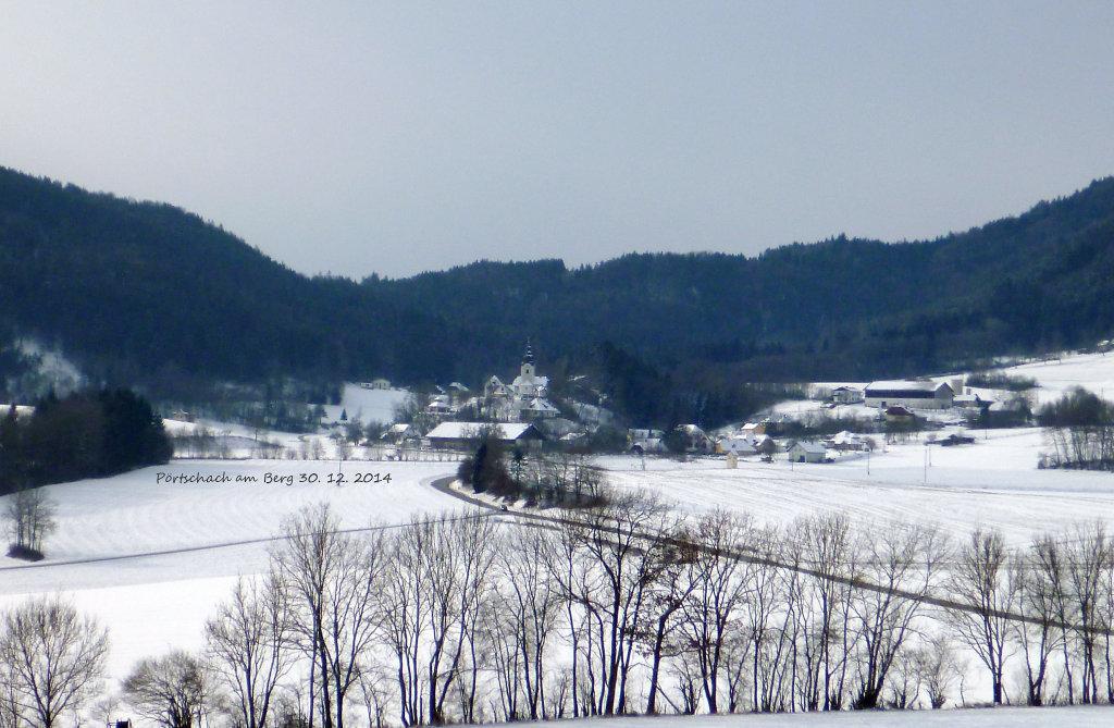 Pörtschach am Berg. 30. 12. 2014 - Pörtschach am Berg, Kärnten (9063-KTN)