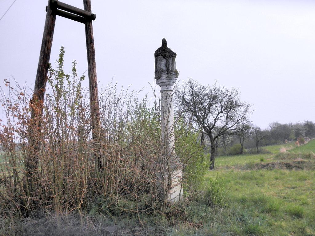 Dreifaltigkeitssäule bei Etzmannsdorf - Etzmannsdorf am Kamp, Niederösterreich (3573-NOE)