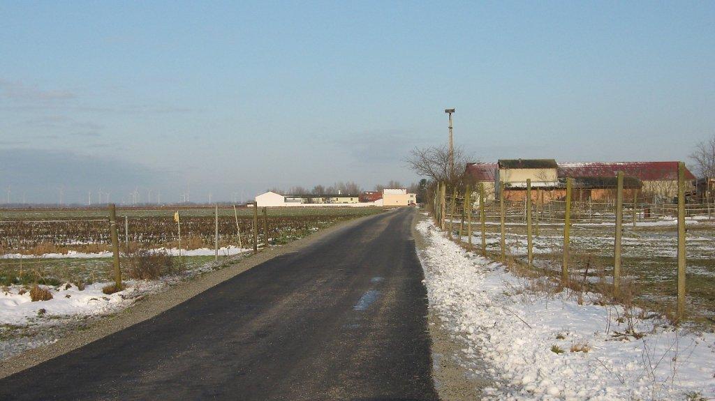 Feldgasse vom Friedhof gesehen - Feldgasse, Burgenland (2423-BGL)