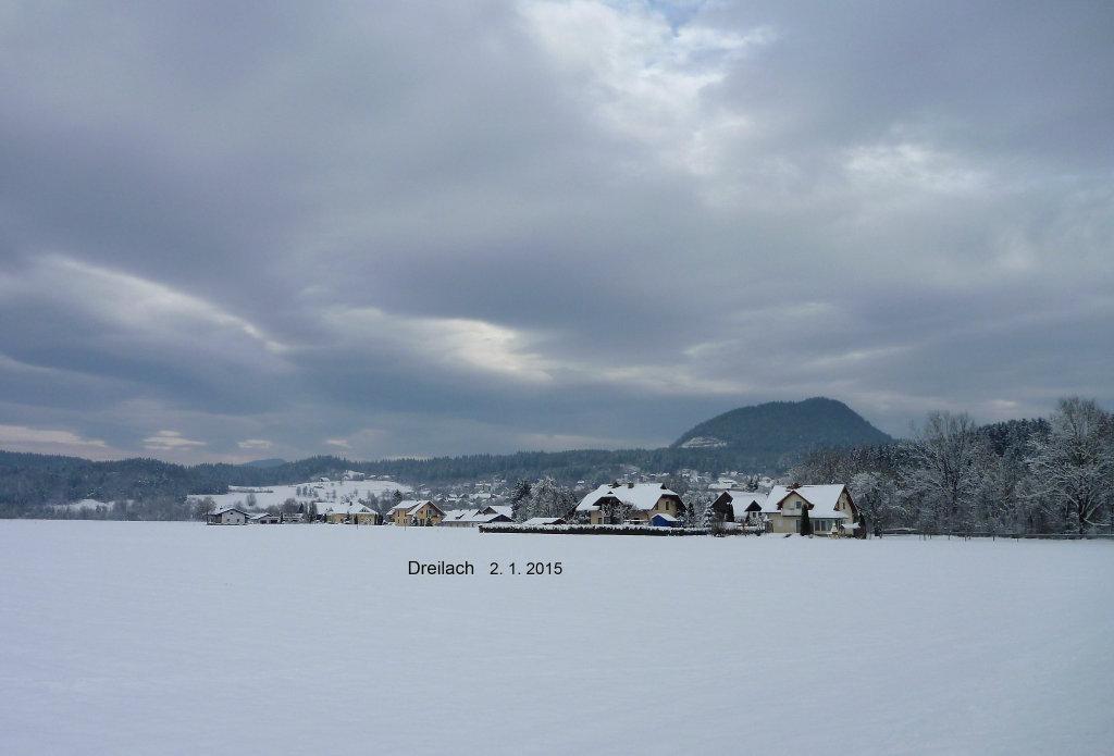 Dreilach am 2. 1. 2015 - Dreilach, Kärnten (9184-KTN)