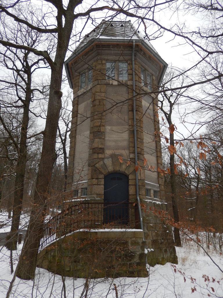 Wasserturm, inzwischen stillgelegt, am Gallitzinberg im 16ten - Wien (W)
