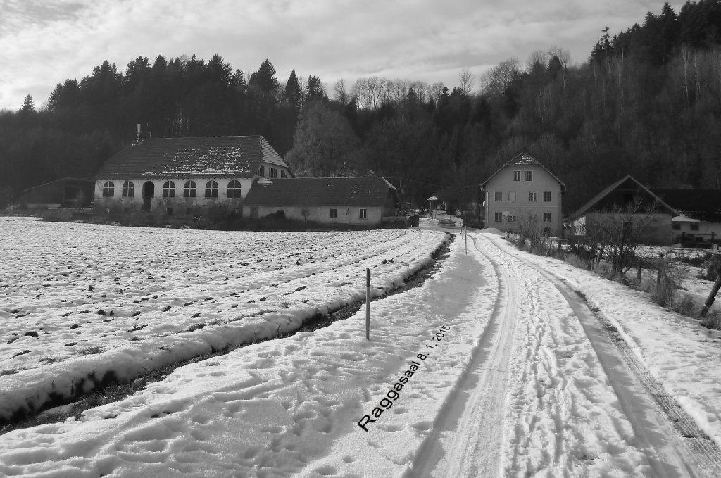 Raggasaal am 8. 1. 2015 - Raggasaal, Kärnten (9063-KTN)