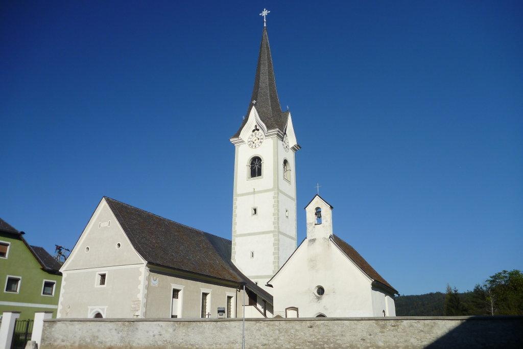 Pfarrkirche Zweikirchen - Zweikirchen, Kärnten (9556-KTN)