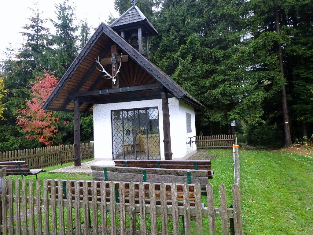 Hubertuskapelle am Rastberg - St. Michael am Bruckbach, Niederösterreich (3352-NOE)