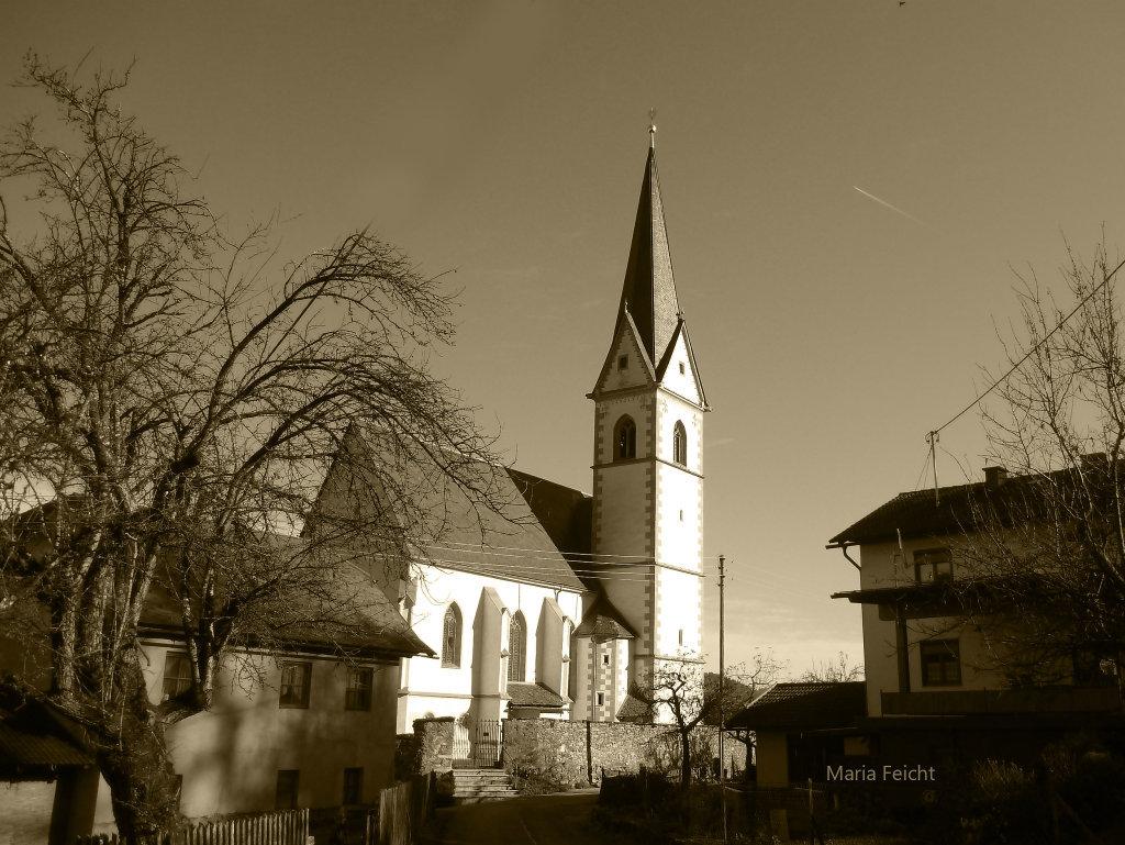 Maria Feicht - Wallfahrtskirche - Maria Feicht, Kärnten (9555-KTN)