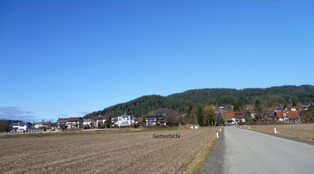 Gottesbichl - Stadtteil von Klagenfurt am Wörthersee, Kärnten - Klagenfurt Stadt, Kärnten (9020-KTN)