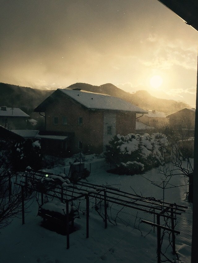 Zetterei im Winter - Zetterei, Kärnten (9065-KTN)