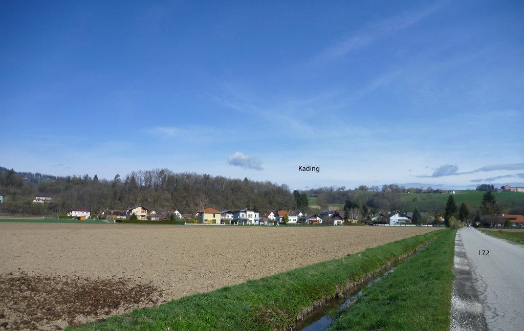 Kading von der L72 aus gesehen - Kading, Kärnten (9063-KTN)