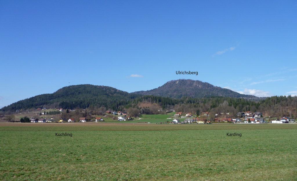 Kading, Kuchling und Ulrichsberg am 31. 3. 2015 - Kading, Kärnten (9063-KTN)