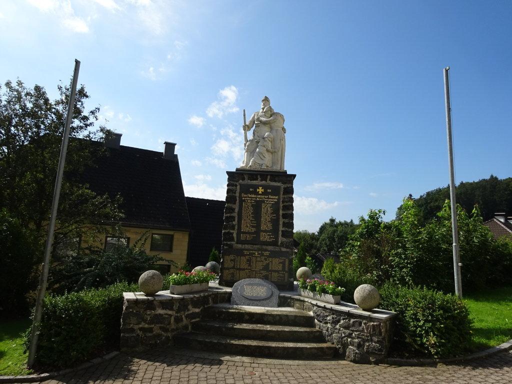 Kriegerdenkmal in St. Martin am Ybbsfelde - St. Martin am Ybbsfelde, Niederösterreich (3376-NOE)