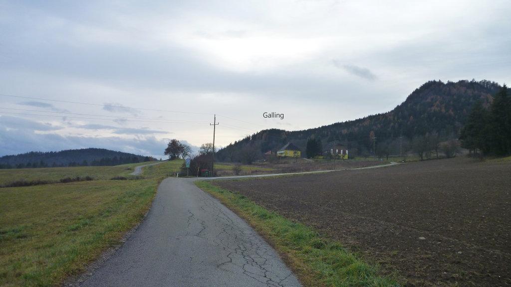 Galling - ein Weiler mit 8 Einwohnern, November 2016 - Galling, Kärnten (9063-KTN)