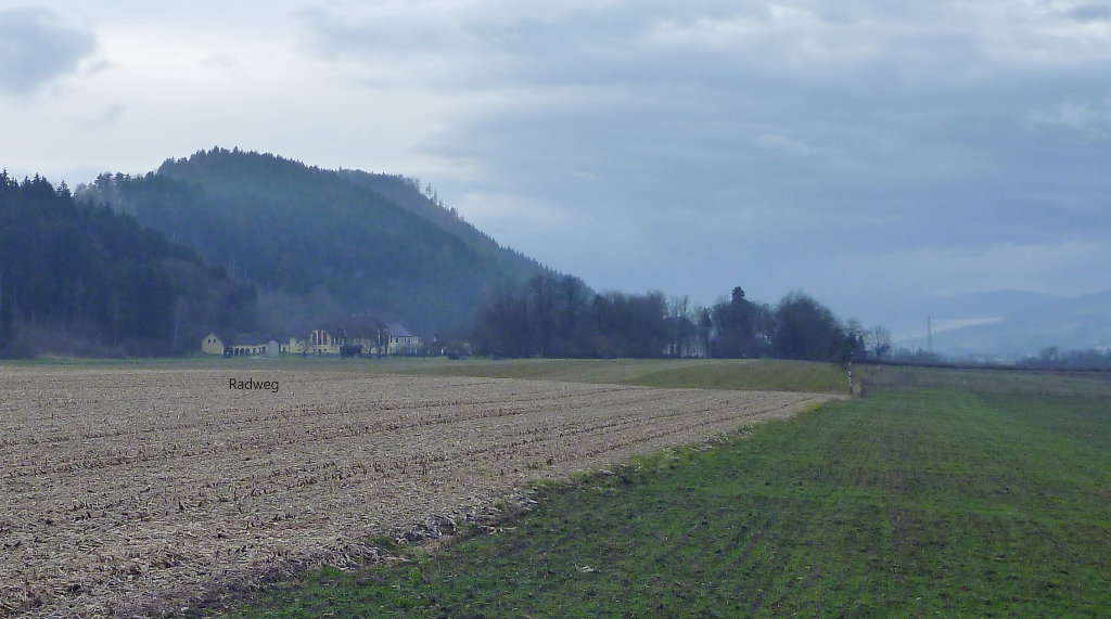 Radweg November 2016 - Radweg, Kärnten (9300-KTN)