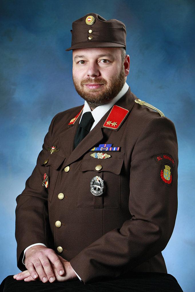 FF-Kommandant Egon Frühwirt - St. Michael am Bruckbach, Niederösterreich (3352-NOE)