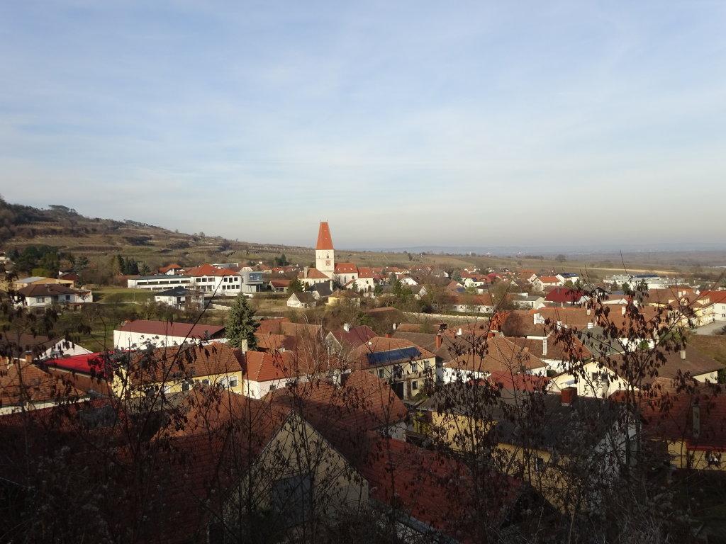 Fernblick auf Nußdorf ob der Traisen - Nußdorf ob der Traisen, Niederösterreich (3133-NOE)