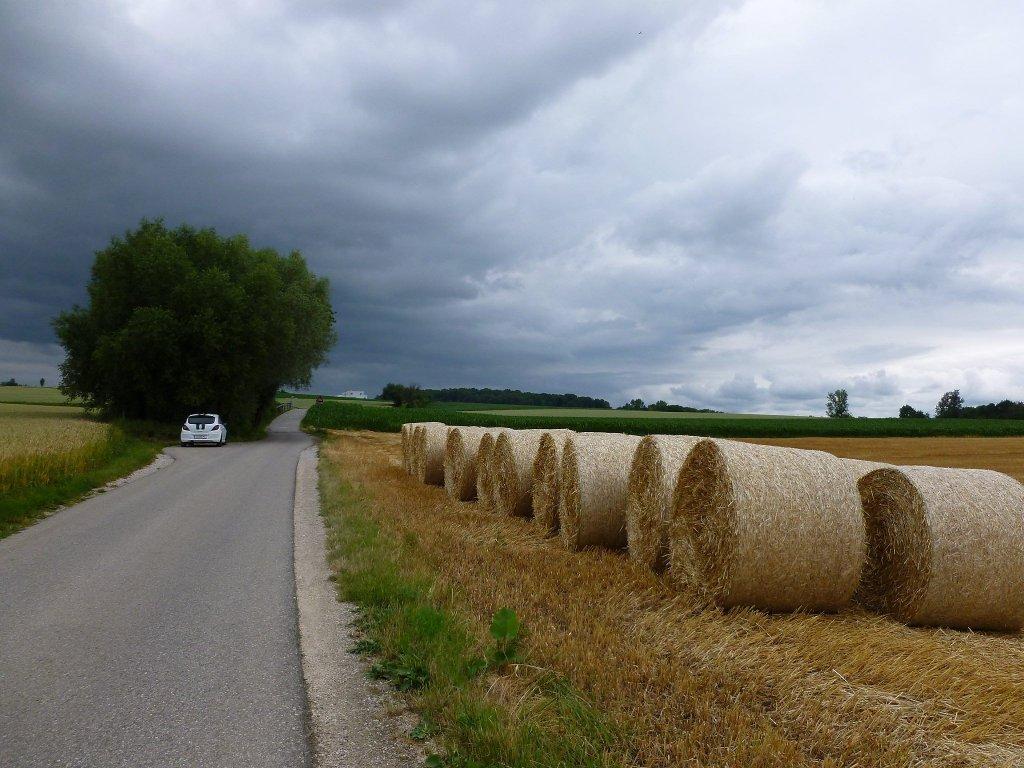 Von Pasching kommend - Thurnhartinger Straße, Oberösterreich (4062-OOE)