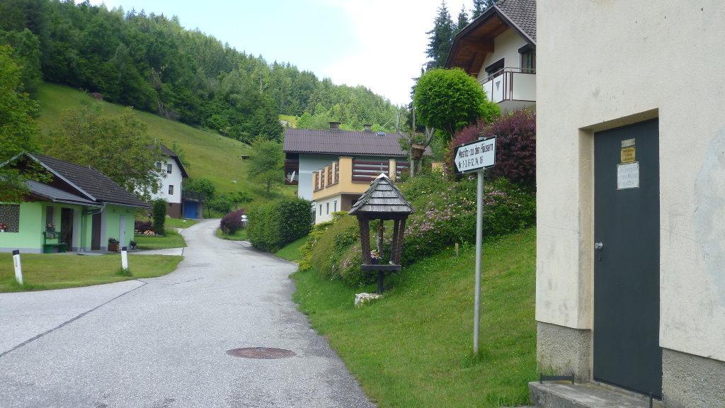 MOSTITZ - ORTSAUSFAHRT IN RICHTUNG OBERTSCHRESTAL - Mostitz, Kärnten (9071-KTN)