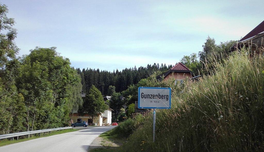 Gunzenberg von Gratschitz kommend - Gunzenberg, Kärnten (9341-KTN)