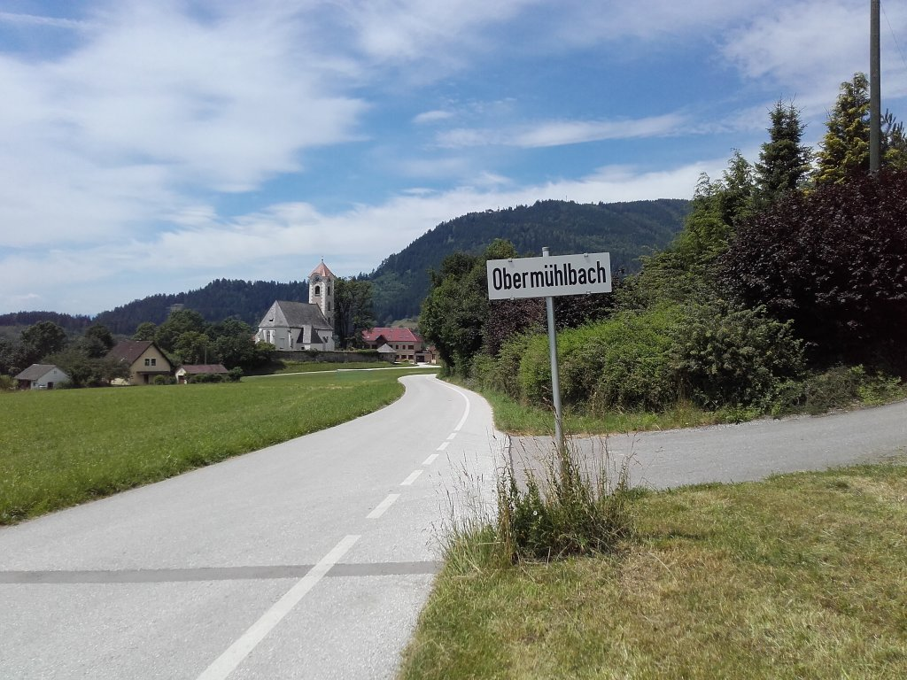 Obermühlbach Juni 2016 - 12 Uhr mittags. - Obermühlbach, Kärnten (9300-KTN)