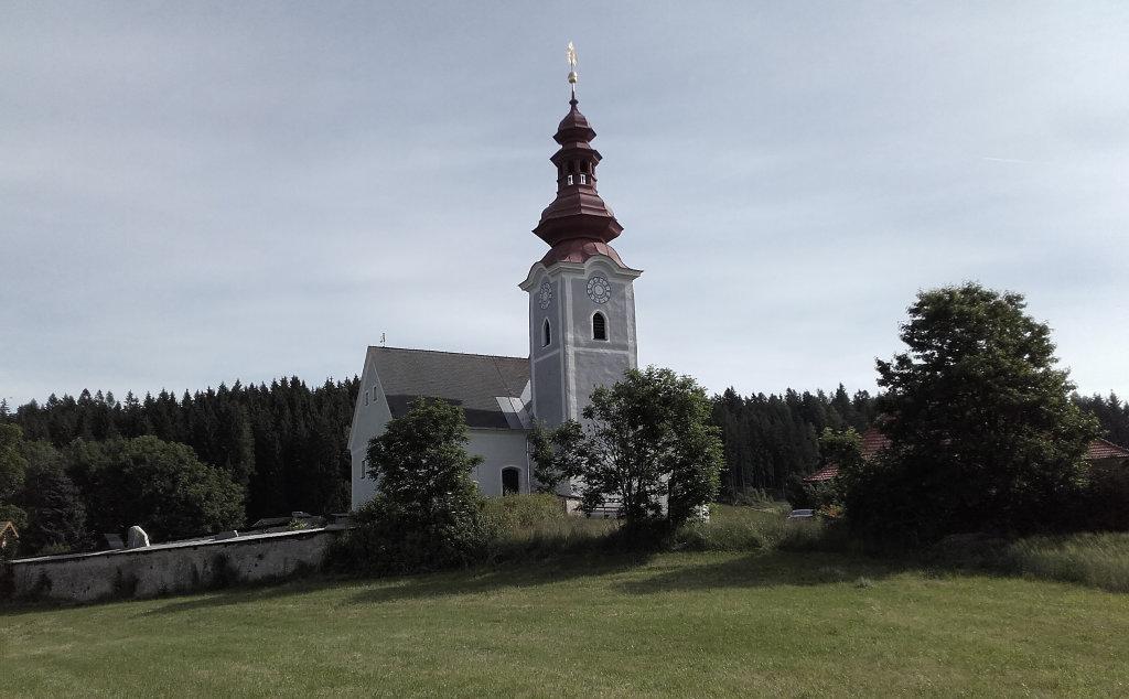 """Pfarrkirche Gunzenberg """"Florianikirche"""" - Gunzenberg, Kärnten (9341-KTN)"""