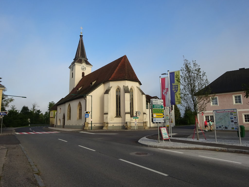 Kath. Pfarrkirche hl. Nikolaus in Neumarkt an der Ybbs - Neumarkt an der Ybbs, Niederösterreich (3370-NOE)