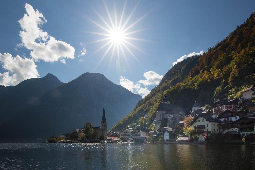 Hallstatt Herbst - Hallstatt, Oberösterreich (4830-OOE)