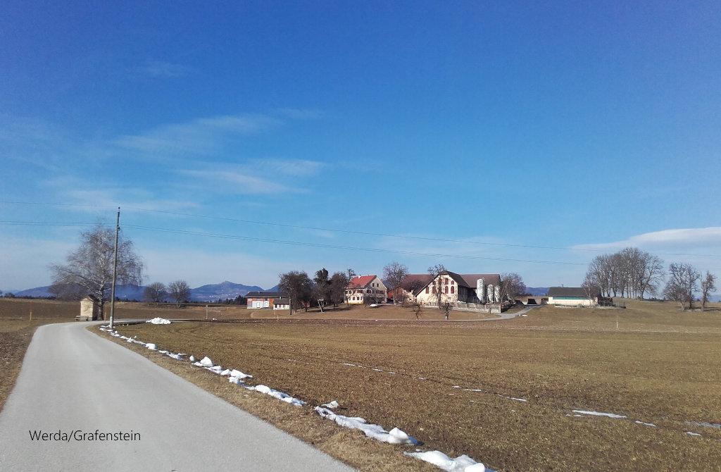 Werda bei Grafenstein am 23.2.2017 - Werda, Kärnten (9131-KTN)