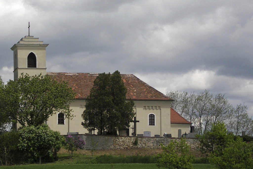 Kirchenberg St. Ulrich b. Neusiedl, Niederösterreich - St. Ulrich, Niederösterreich (2183-NOE)