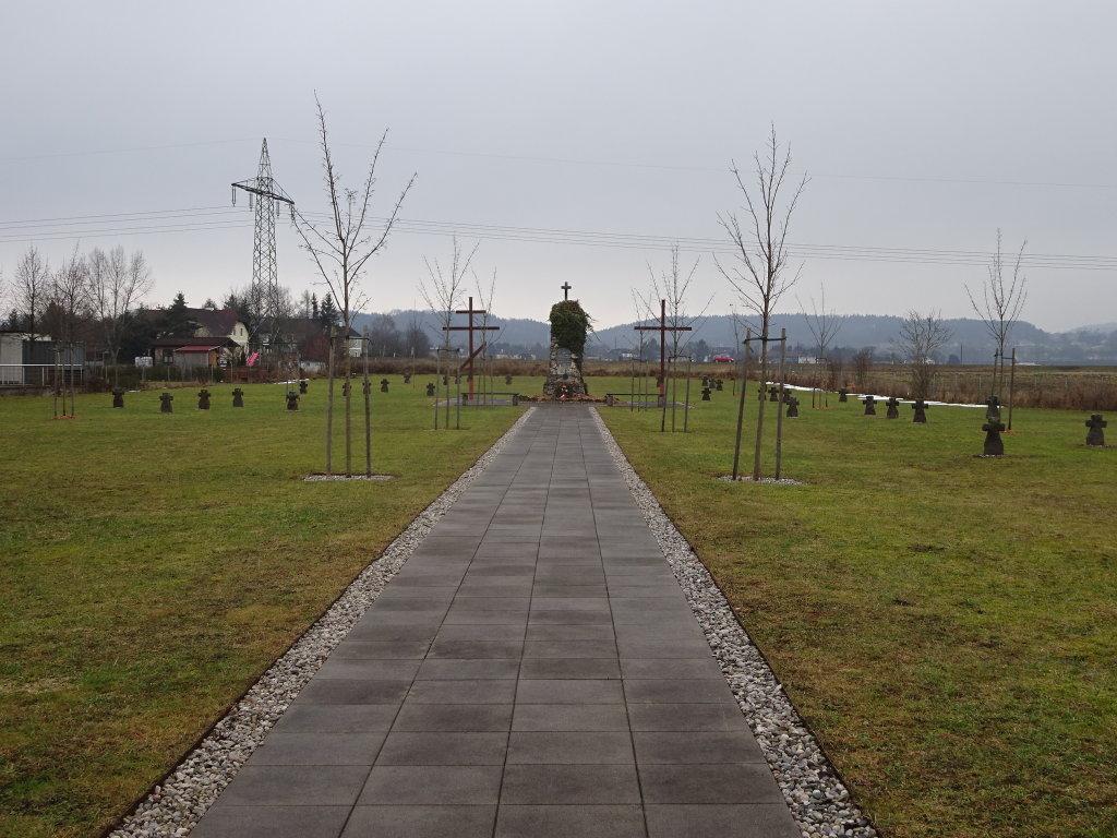 Soldatenfriedhof - Lagerfriedhof in Matzendorf - Matzendorf, Niederösterreich (3300-NOE)