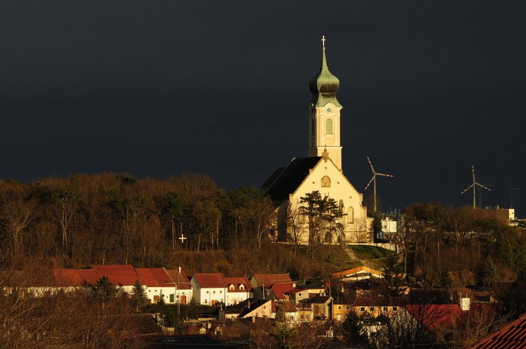 drohendes Frühlingsunwetter... - Mistelbach, Niederösterreich (2130-NOE)