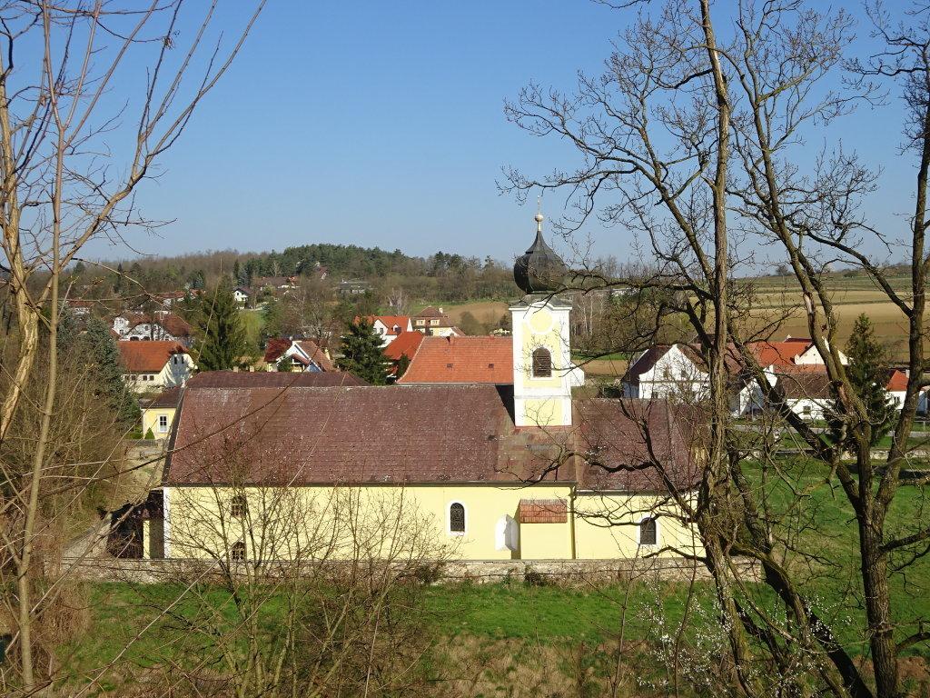Kath. Pfarrkirche hl. Nikolaus in Plank am Kamp - Plank am Kamp, Niederösterreich (3564-NOE)