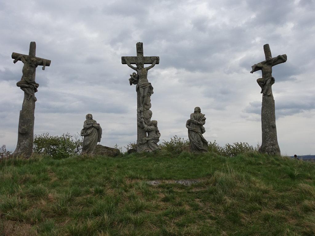 Kreuzigungsgruppe auf dem Kalvarienberg bei Pillersdorf - Pillersdorf, Niederösterreich (2073-NOE)