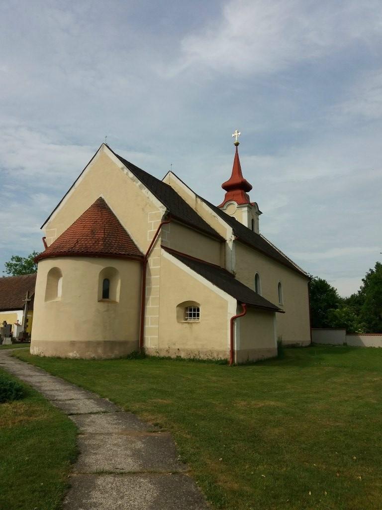 Kirche Niklasberg - Niklasberg, Niederösterreich (3823-NOE)