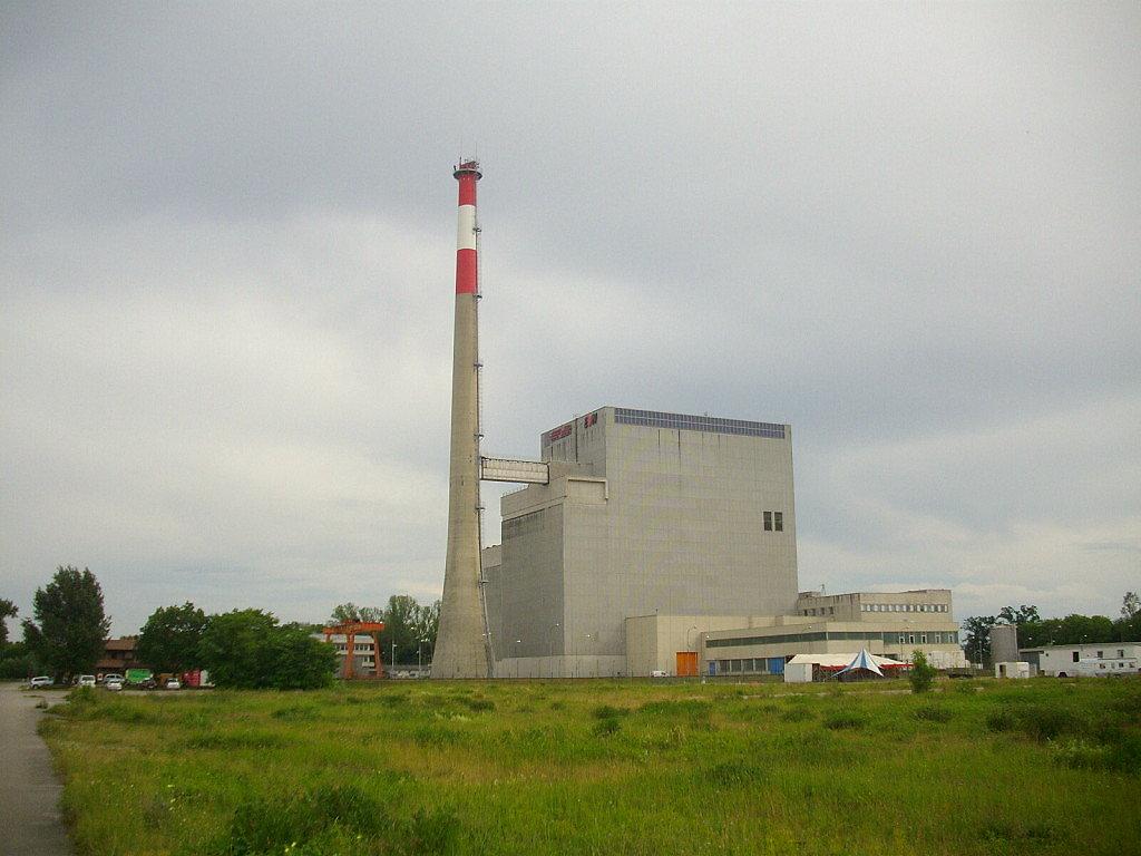 Kraftwerk Zwentendorf - Zwentendorf an der Donau, Niederösterreich (3435-NOE)