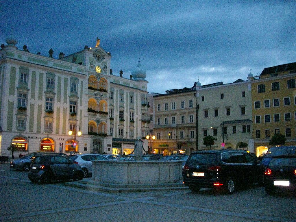 Stadtplatz Gumunden - Gmunden, Oberösterreich (4810-OOE)