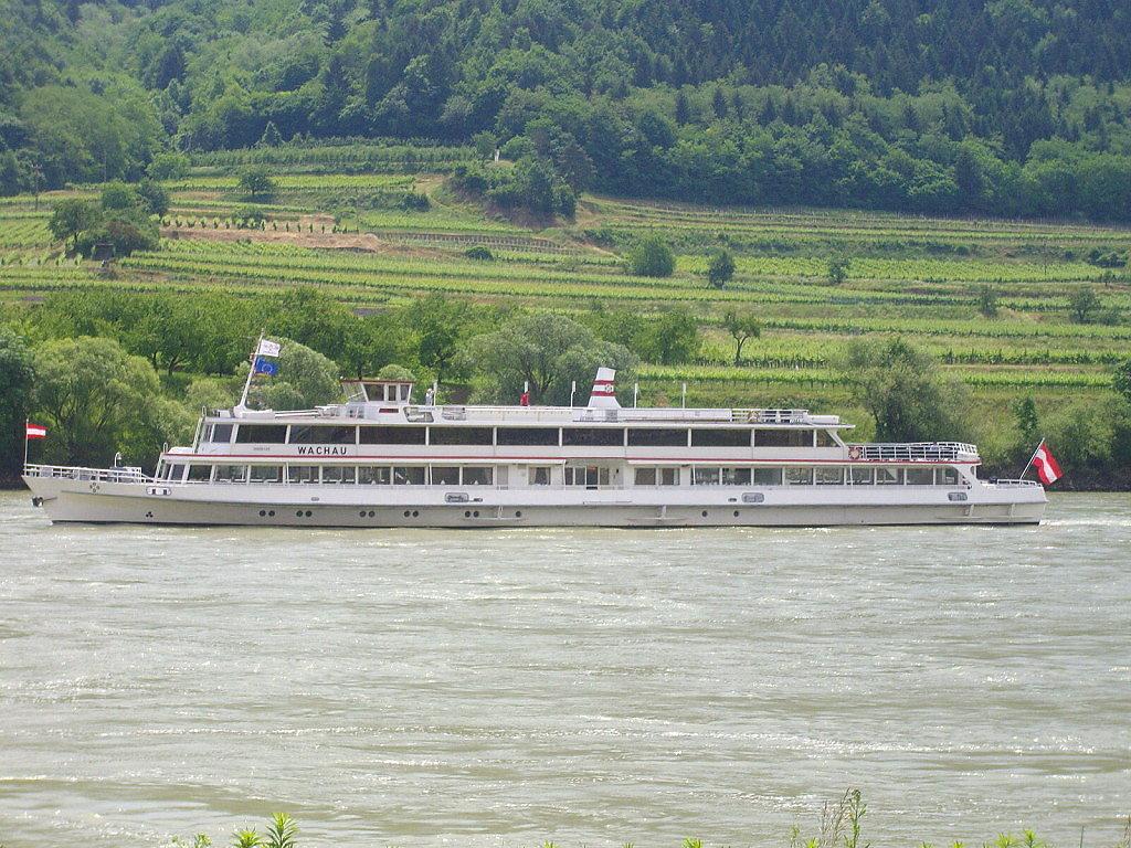 """Schiff """"Wachau"""" auf der Donau - Niederösterreich (NOE)"""