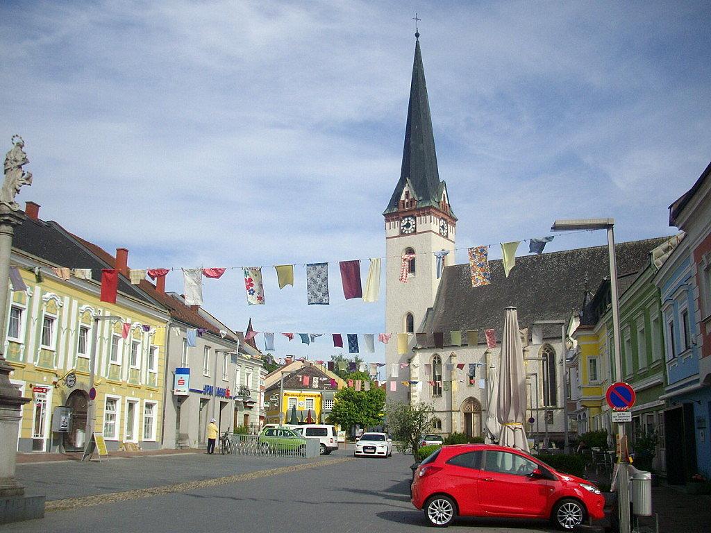 Ottensheim Marktplatz - Ottensheim, Oberösterreich (4100-OOE)