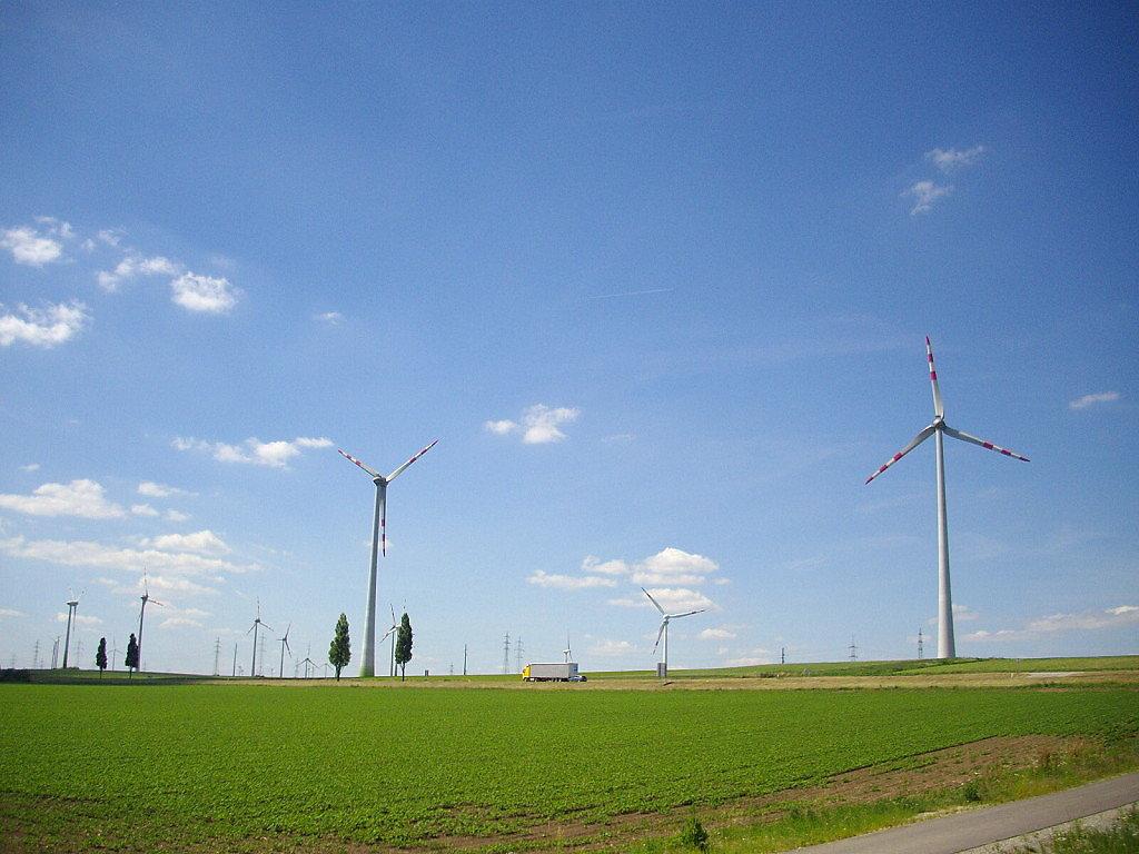 Windräder - Niederösterreich (NOE)