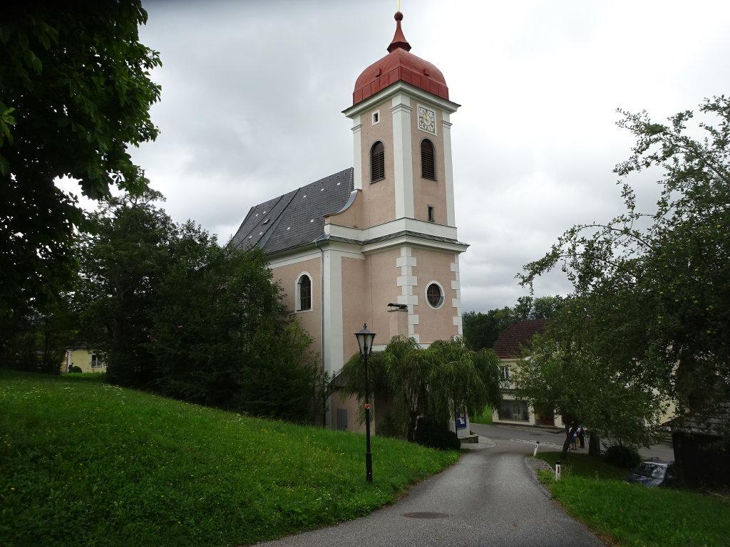 Kath. Pfarrkirche hl. Urban in Wimberg - Wimberg, Niederösterreich (3683-NOE)
