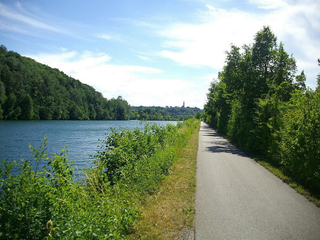 Radweg am Traunufer - Traun, Oberösterreich (4050-OOE)