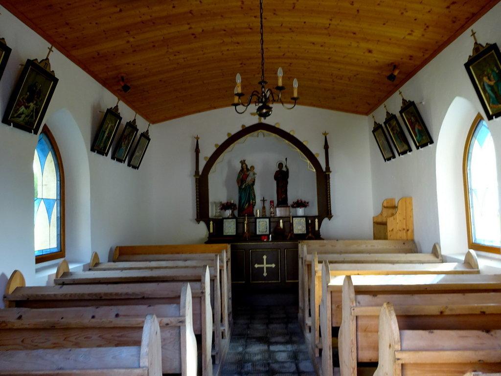 Innenansicht der Dorfkapelle Markersdorf - Markersdorf, Oberösterreich (4272-OOE)