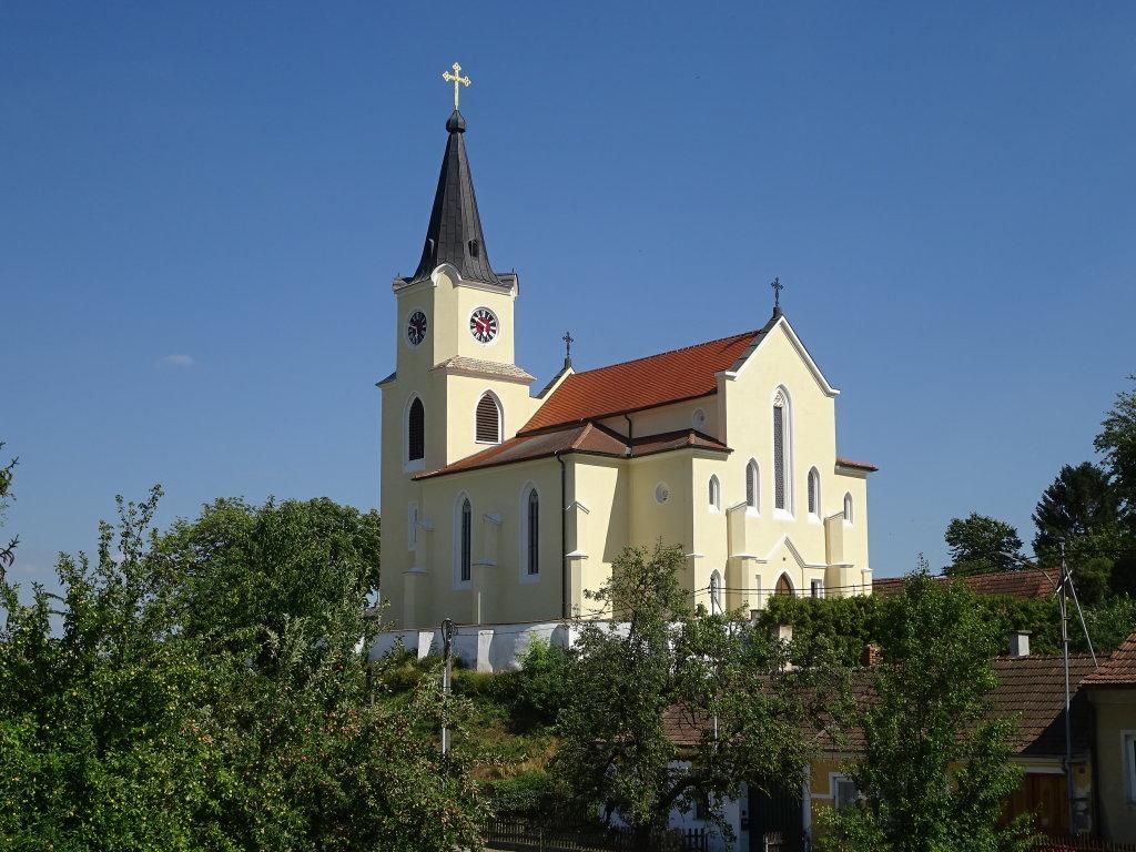 Kath. Filialkirche hll. Philipp und Jakob in Glaubendorf - Glaubendorf, Niederösterreich (3704-NOE)