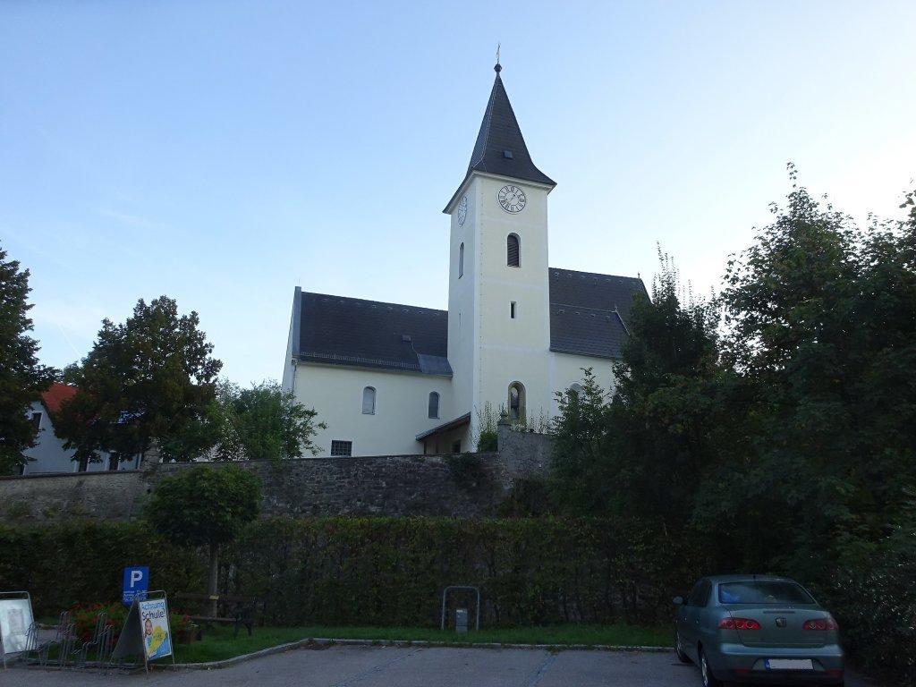Kath. Pfarrkirche hl. Ägyd in Stössing - Stössing, Niederösterreich (3073-NOE)